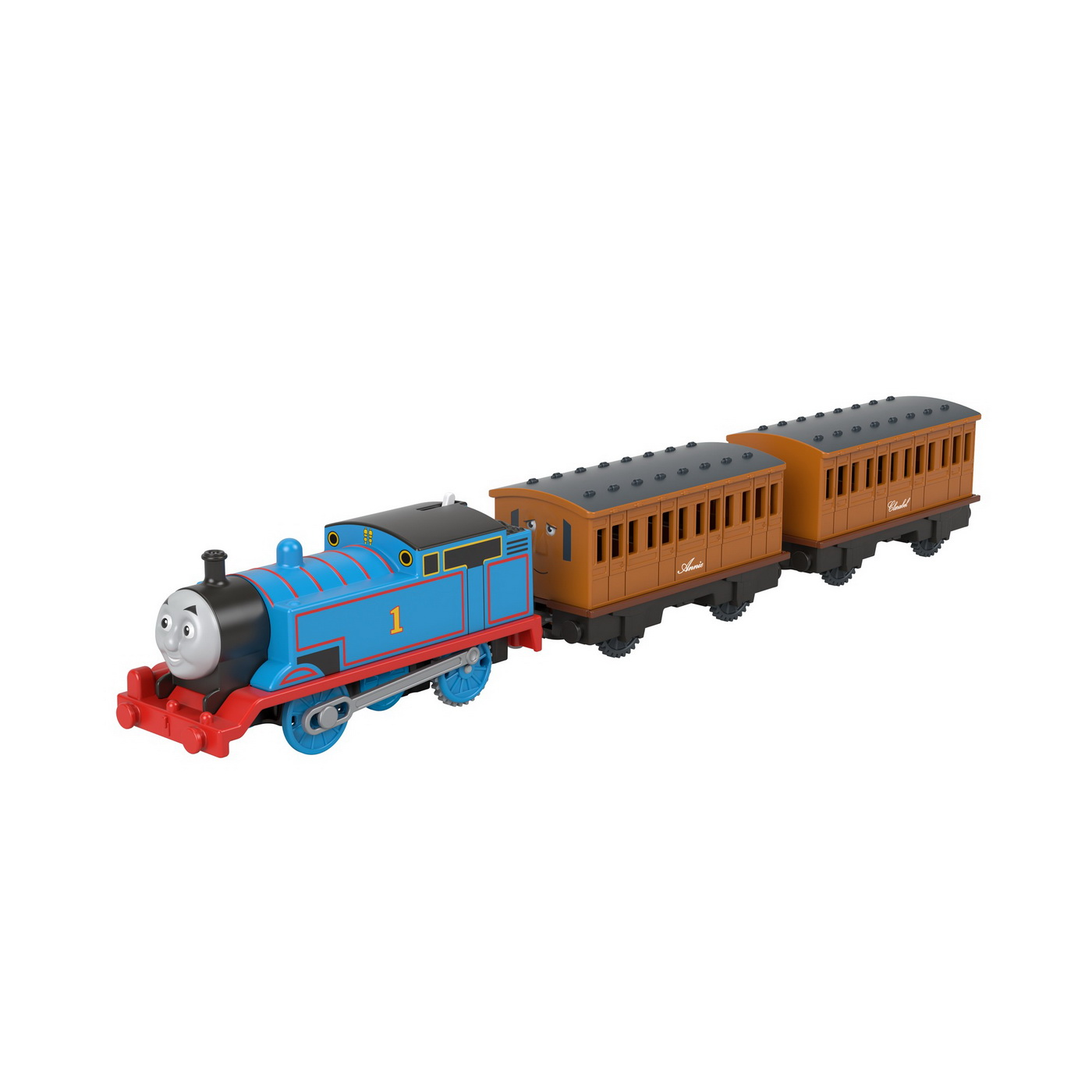 Thomas Locomotiva Motorizata cu 2 vagoane Annie si Clarabel