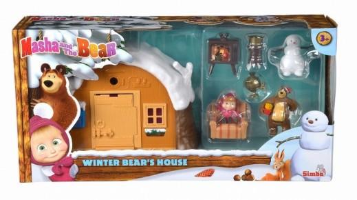 Masha set casa de iarna a ursului