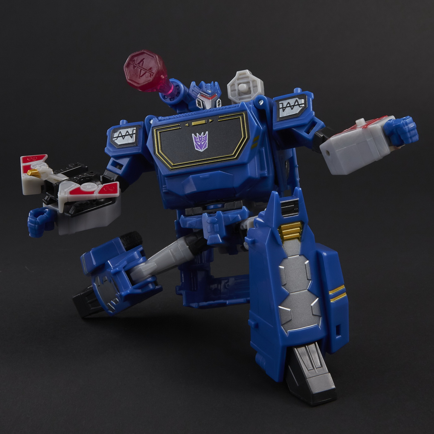 Tansformers Robot Vehicul Cyberverse Deluxe Soundwave