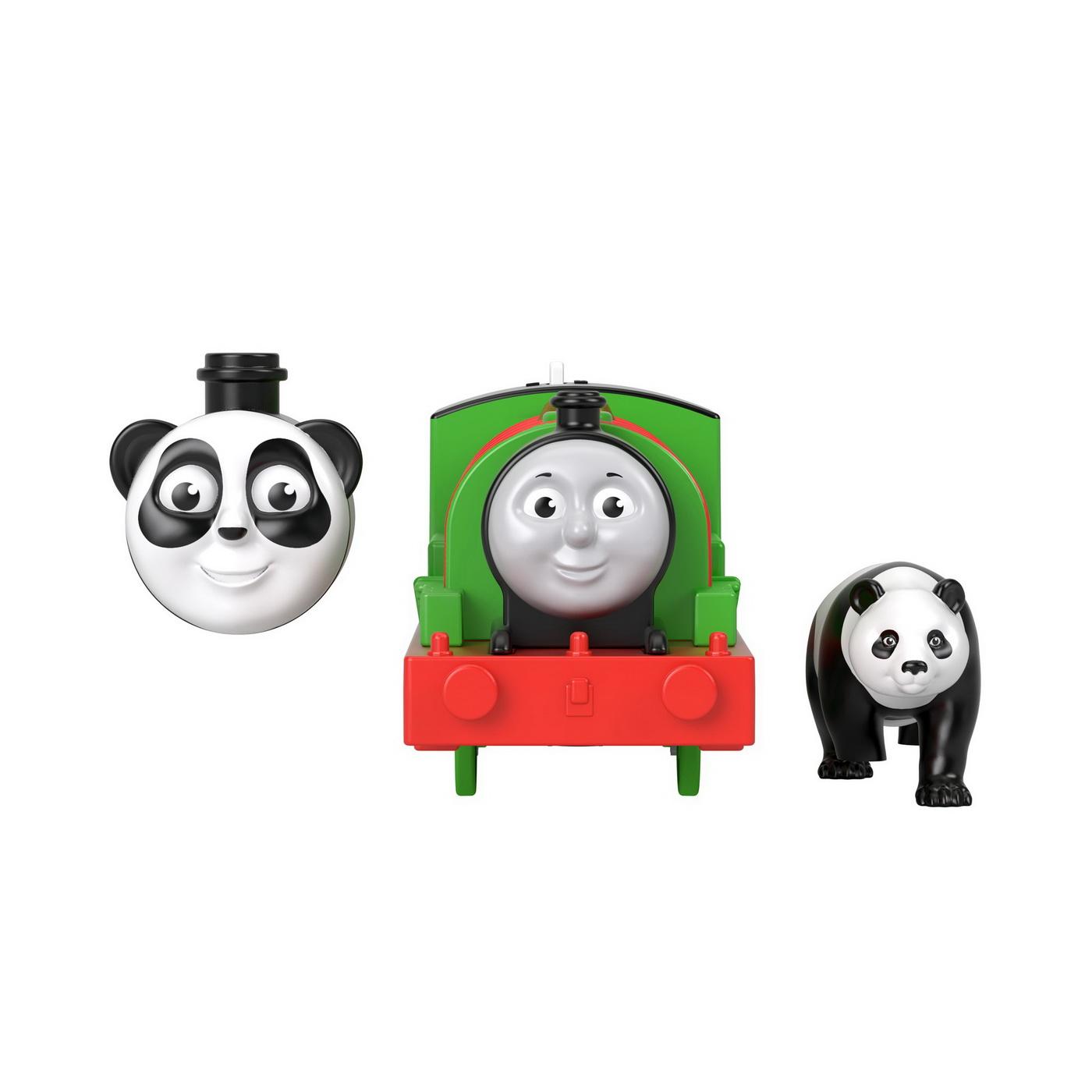 Thomas Locomotiva Motorizata Safari  Panda Percy