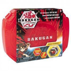 Bakugan Caseta pentru pastrare cu bila dragonoid